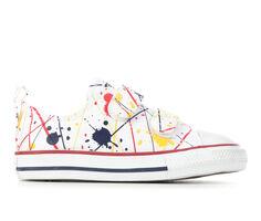 Kids' Converse Infant & Toddler CTAS Splatter Ox 2V Sneakers