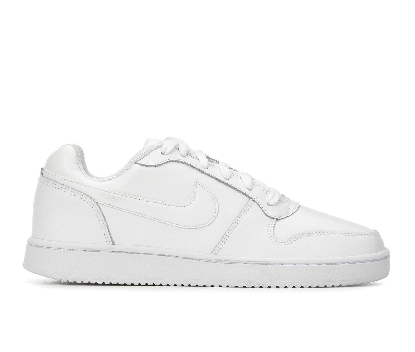 Women's Nike Ebernon Low Basketball Shoes White/White