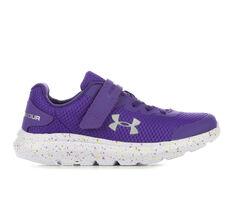 Girls' Under Armour Little Kid Surge 2 Fade Running Shoes