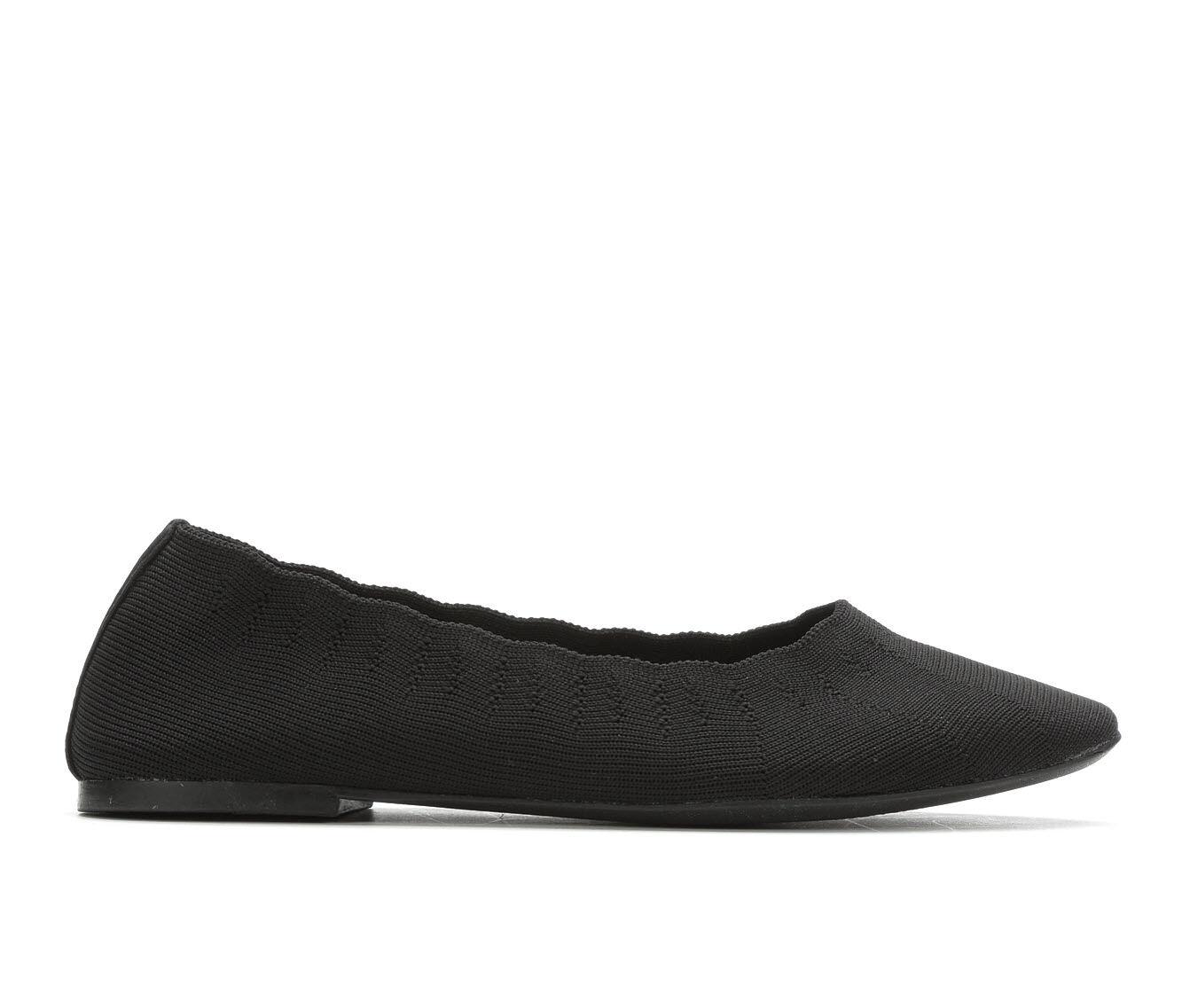 genuine store Women's Skechers Cleo 48885 Memory Foam Flats Black