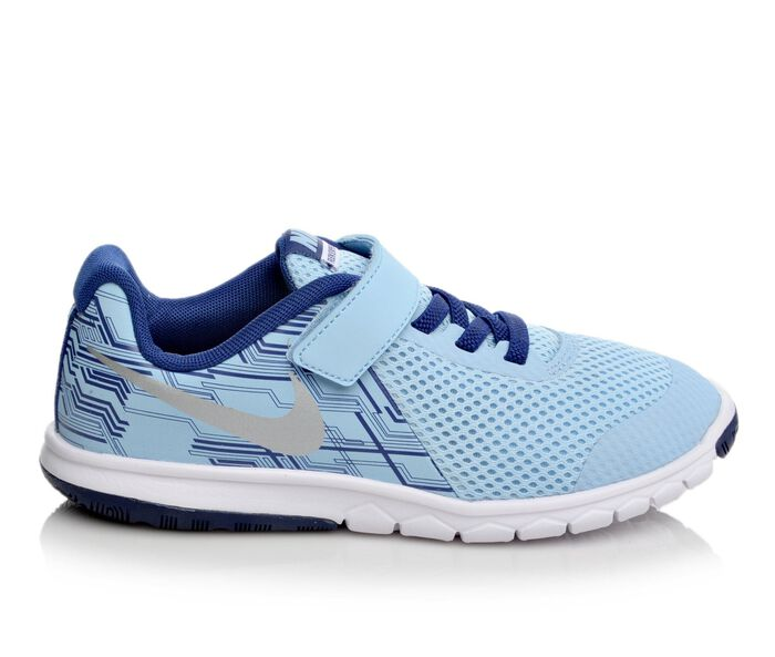 Girls' Nike Flex Experience 5 Print 10.5-3 Running Shoes