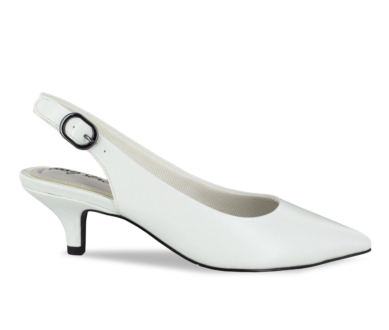 Women's Easy Street Faye Shoes White