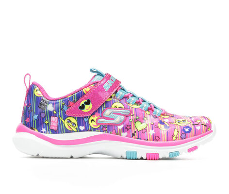 Girls' Skechers Trainer Lite - Happy Dancer 10.5-5 Slip-On Sneakers