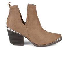 Women's Journee Collection Issla Side Slit Booties