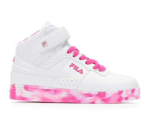 Girls' Fila Vulc 13 Mid Plus Mashup G 10.5-7 Sneakers