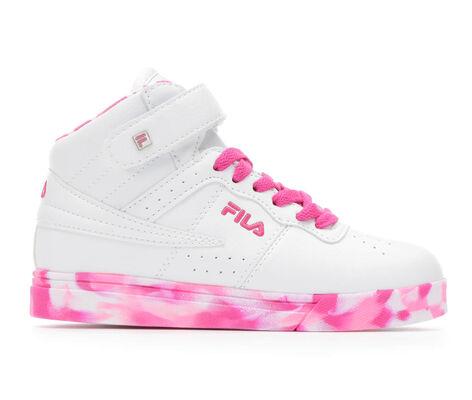 Girls' Fila Vulc 13 Mid Plus Mashup G 10.5-7 High Top Basketball Shoes