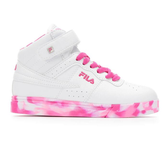 Girls' Fila Vulc 13 Mid Plus Mashup G 10.5-7 Sneakers