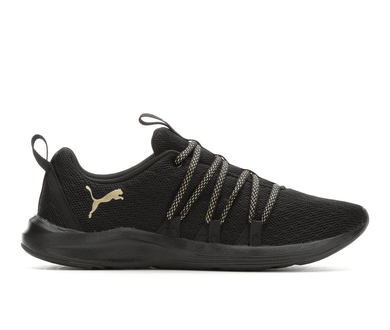 Women's Puma Prowl Sneakers Black/Gold
