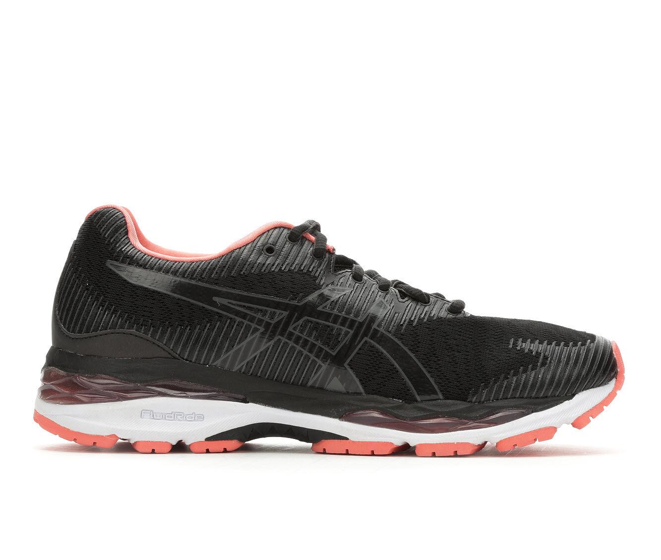 Women's ASICS Gel Ziruss 2 Running Shoes Black/Gry/Peach