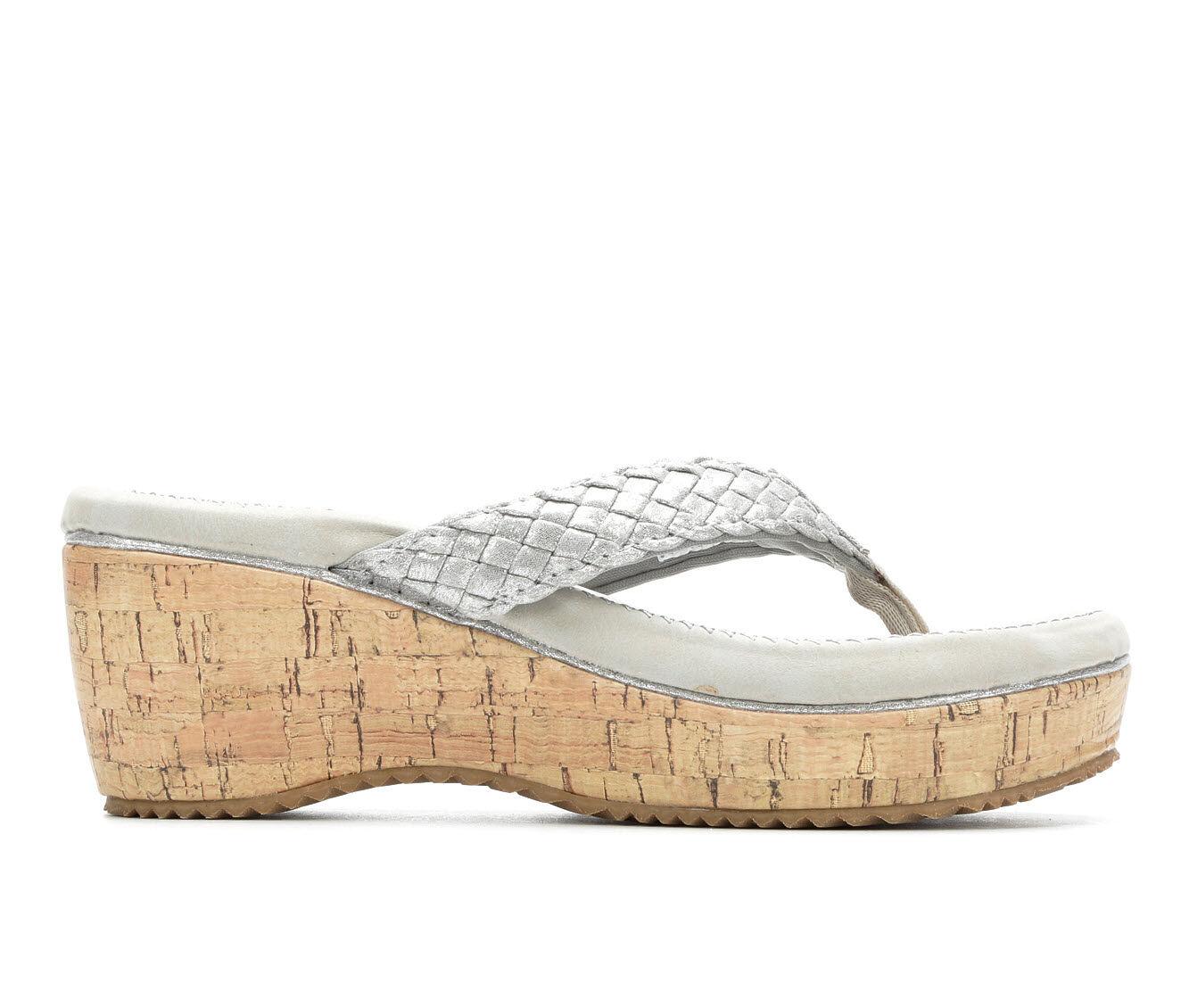 Women's Volatile Brownfield Platform Sandals Silver