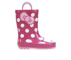 Girls' Western Chief Little Kid & Big Kid Hello Kitty Cutie Dot Rain Boots