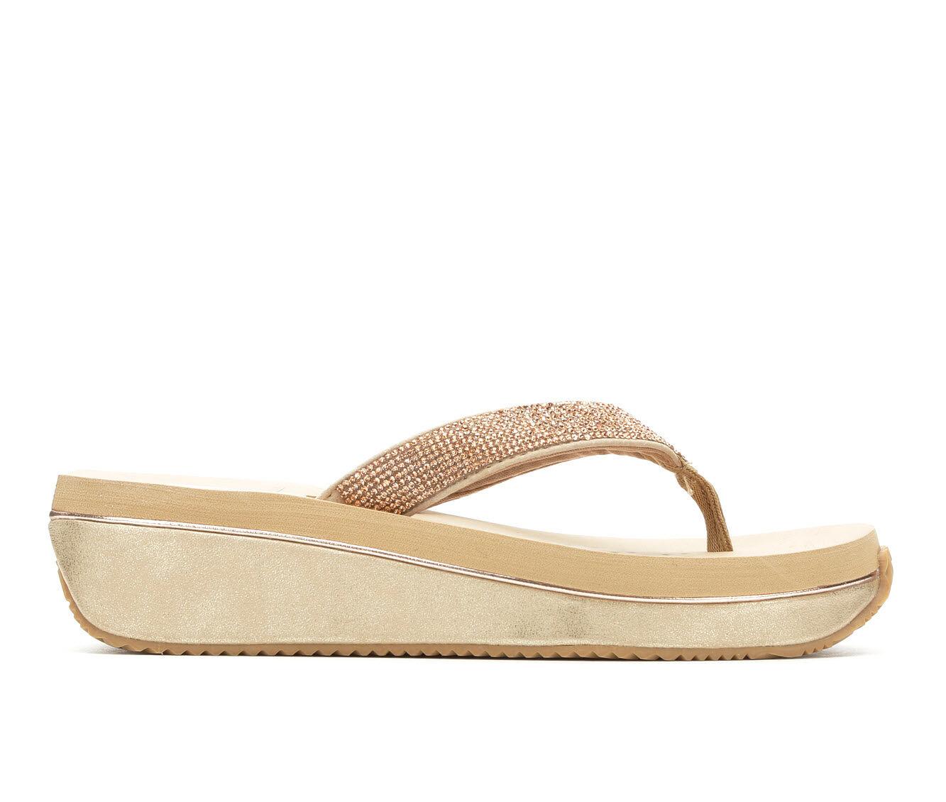 Women's Volatile Zabeel Platform Sandals Rose Gold