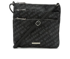 Madden Girl Handbags Triple Zip Crossbody