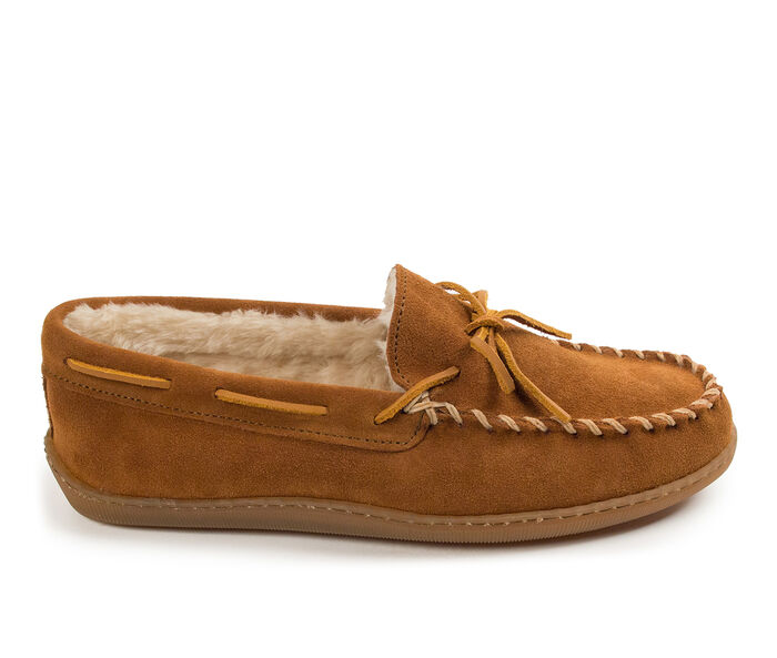 Minnetonka Pile Lined Hardsole Slippers