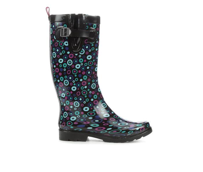 Women's Capelli New York Carnival Dot Tall Rain Boots