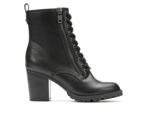 Women's David Aaron Freemont Heeled Lace-Up Boots
