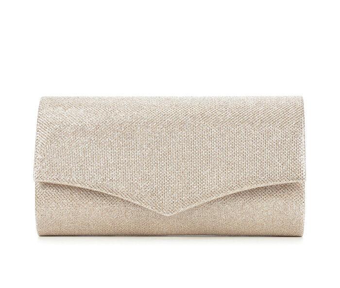 Four Seasons Handbags Glitter Envelope Clutch