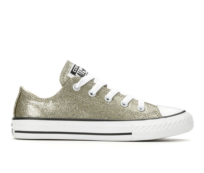 Girls' Converse CTAS Glitter TPU Ox 11-6 Sneakers | Tuggl