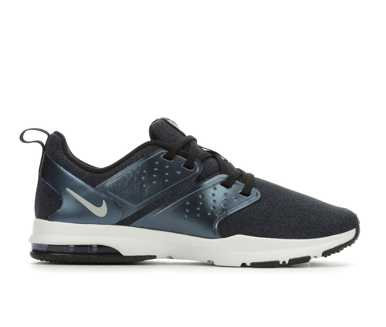 Women's Nike Air Bella TR Premuim Training Shoes Black/Silv/Navy
