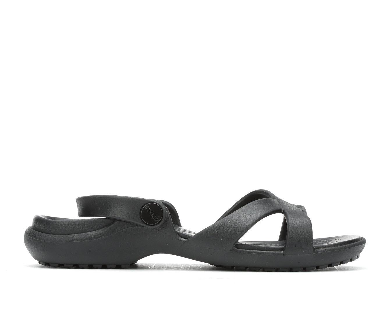 Women's Crocs Meleen Crossband Black
