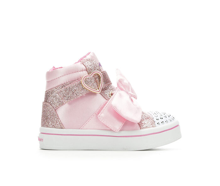 Girls' Skechers Toddler Bow Beautiful Light-Up Sneakers