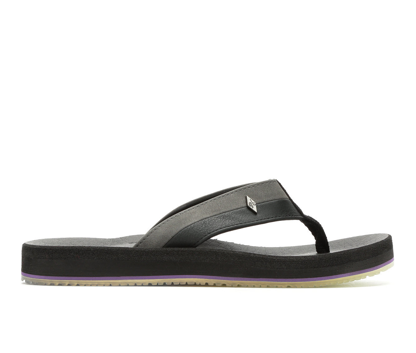 Women's Guy Harvey Castaway Marlin Sunset Sandals Black/Grey
