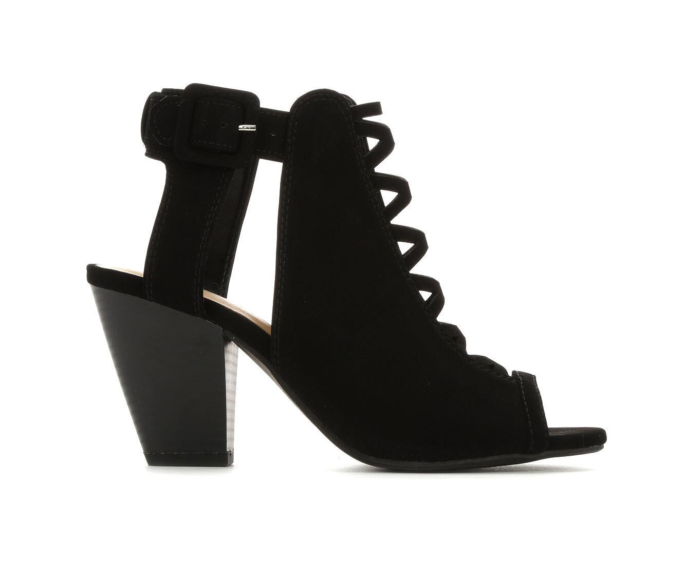 Women's Y-Not Lacet Heeled Sandals Black