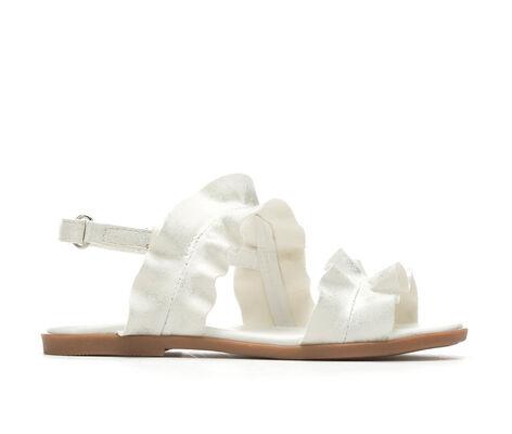 Girls' Y-Not Ruffle 11-4 Dress Sandals