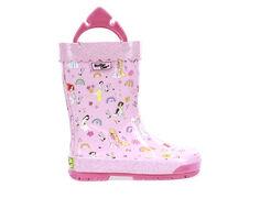 Girls' Western Chief Toddler Princess Flower Child Rain Boots