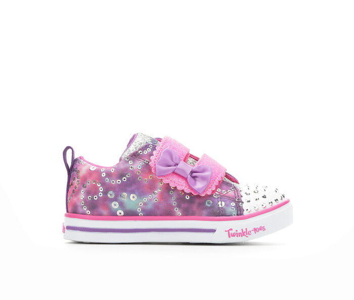 Girls' Skechers Toddler & Little Kid Rainbow Cuties Light-Up Sneakers