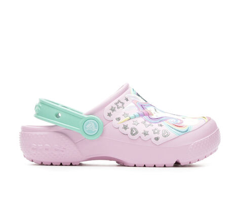 Girls' Crocs Funlab Unicorn 11-3 Clogs