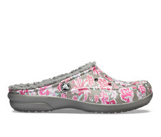 Women's Crocs Freesail Graphic Lined Mules
