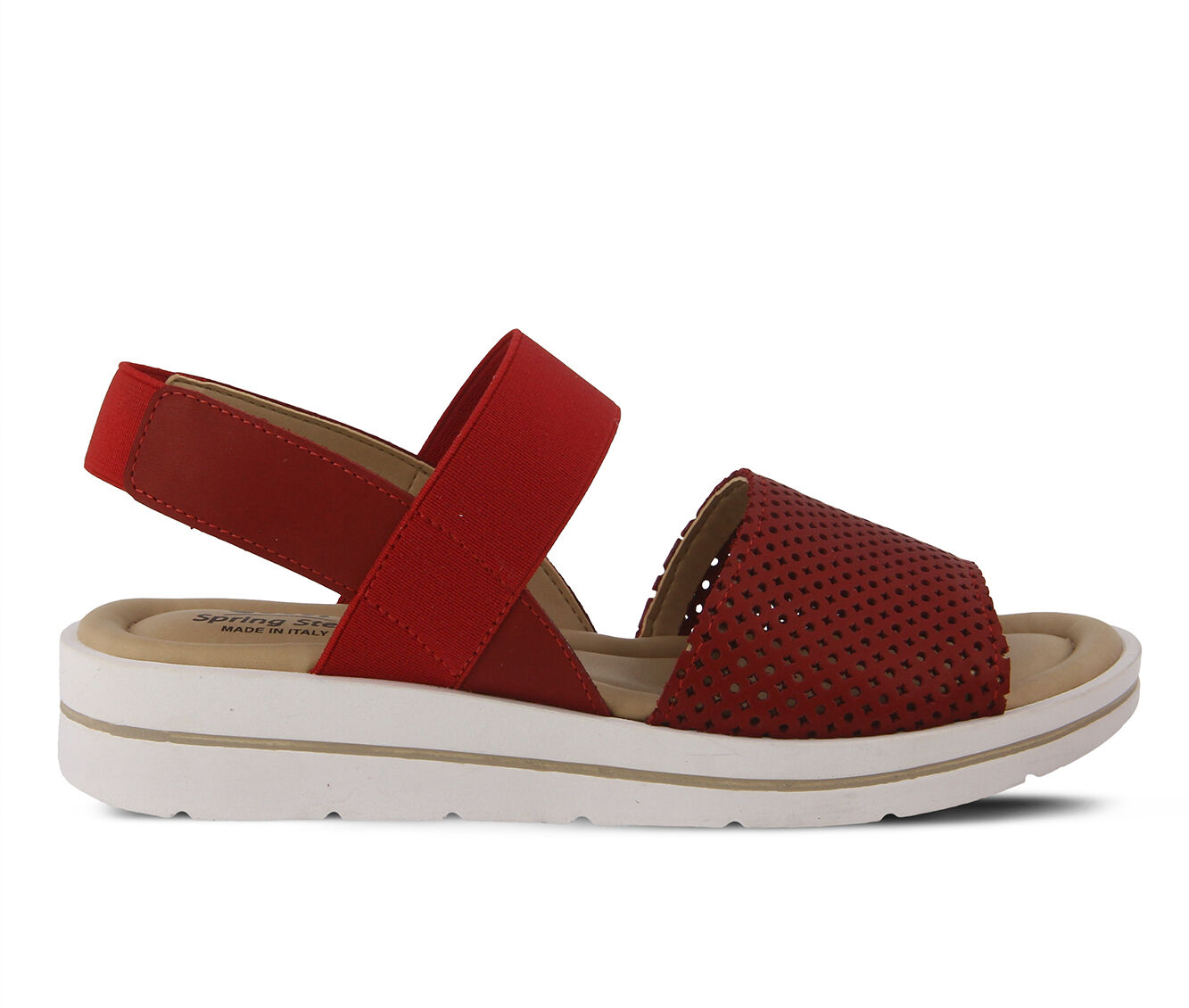 Women's SPRING STEP Travel Sandals Red