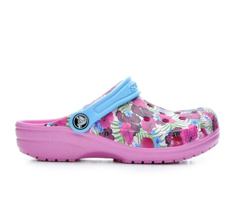 Girls' Crocs Classic Graphic G 11-3 Clogs