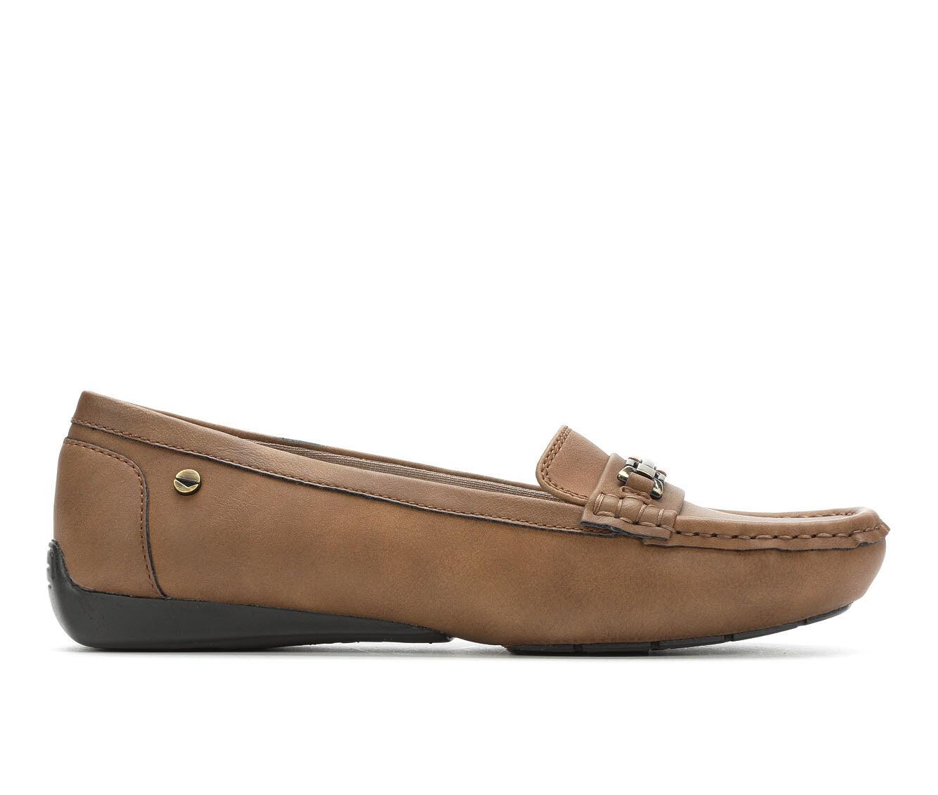 Women's LifeStride Vanity Loafers Tan Oiled