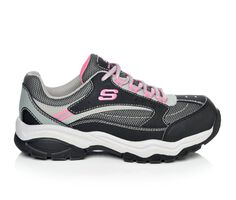 Women's Skechers Work 76601 Biscoe Steel  Toe Work Shoes
