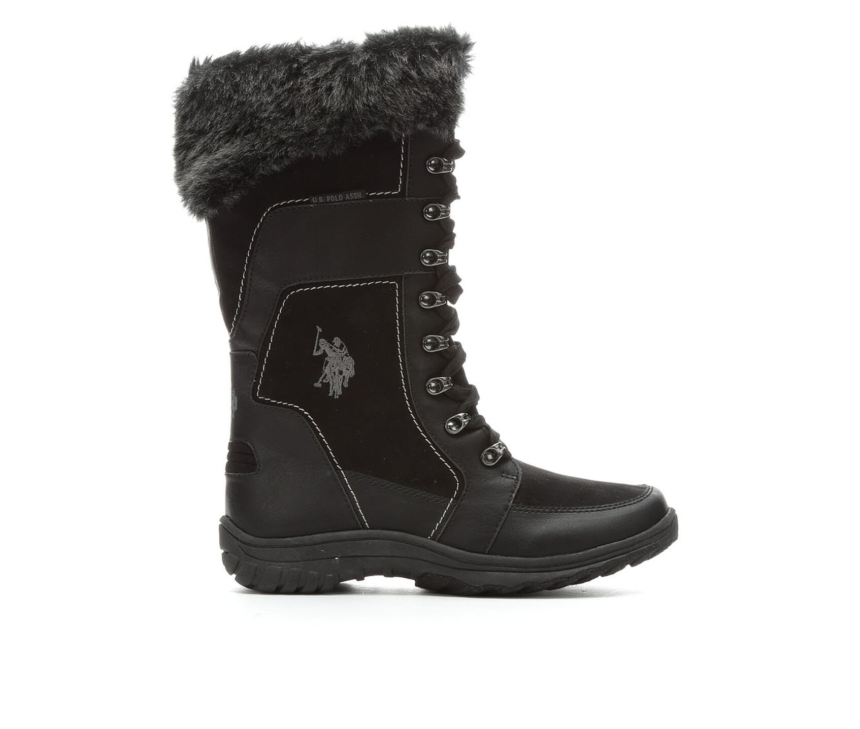 women 39 s us polo assn valley mid calf boots. Black Bedroom Furniture Sets. Home Design Ideas