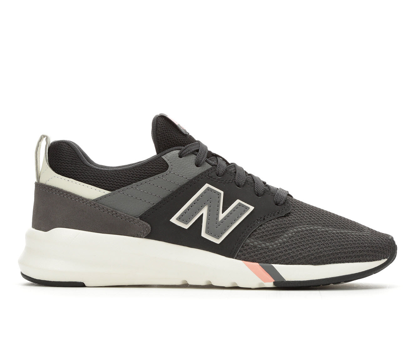 Popularity Best Women's New Balance 009 Retro Sneakers Black/White/Gry