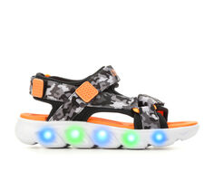 Boys' Skechers Little Kid Hypno-Splash Camo Light-Up Sandals