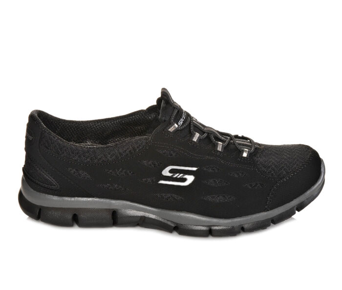 All Black Tennis Shoes Skechers