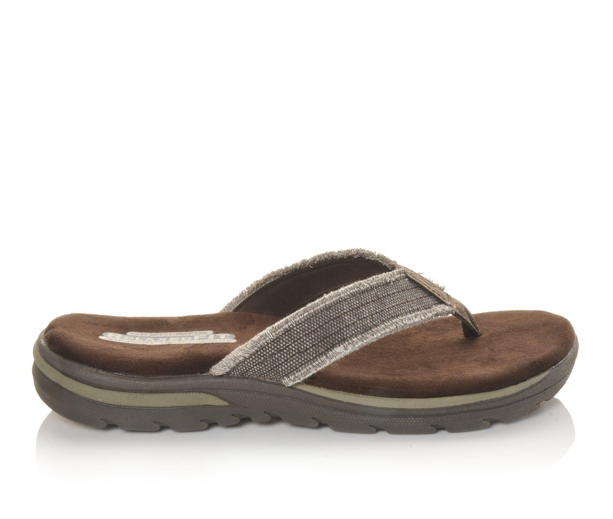 skechers flip flops mens