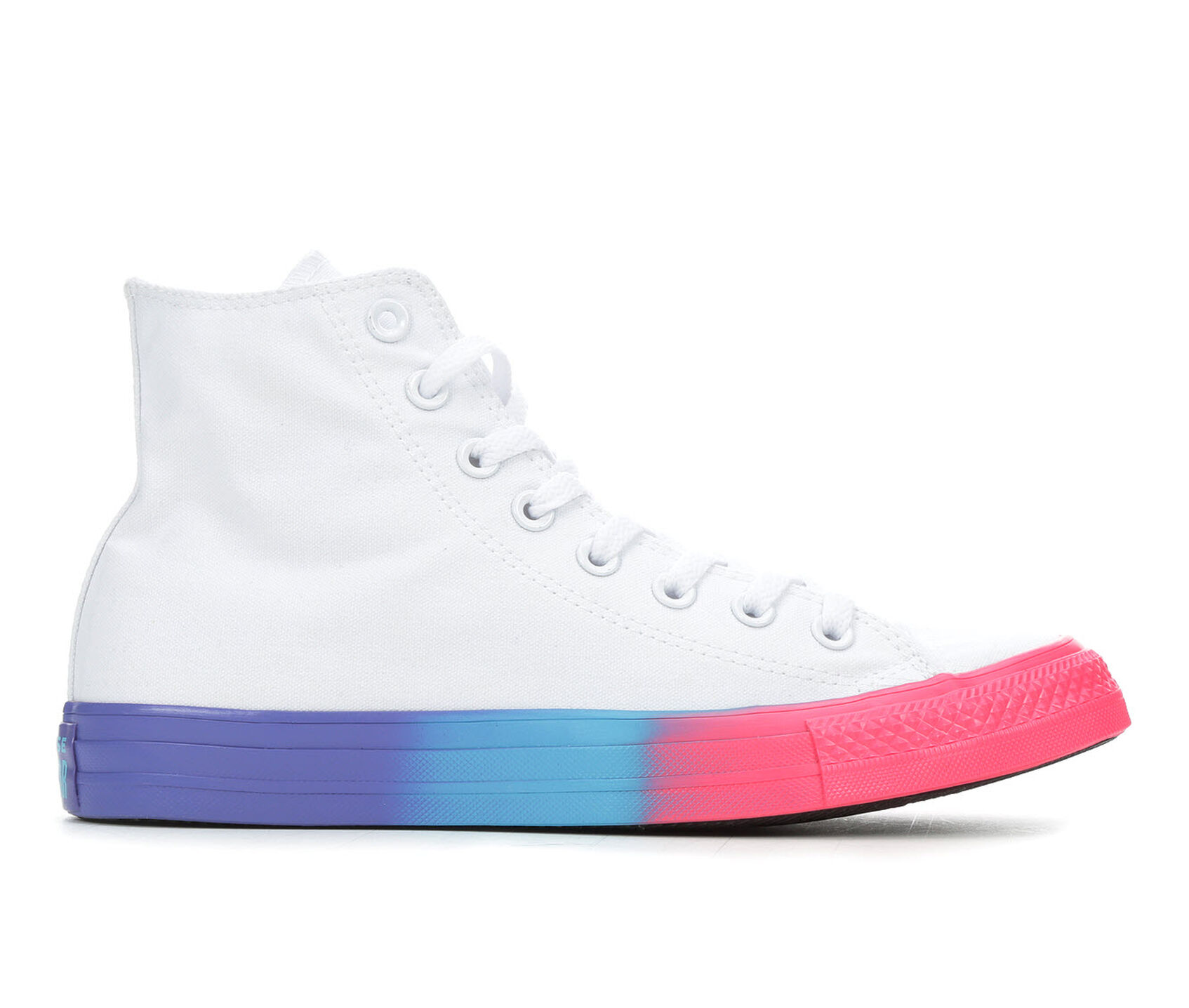 purchase cheap 78bd4 80399 Women's Converse Chuck Taylor All Star Rainbow Ice Hi Sneakers