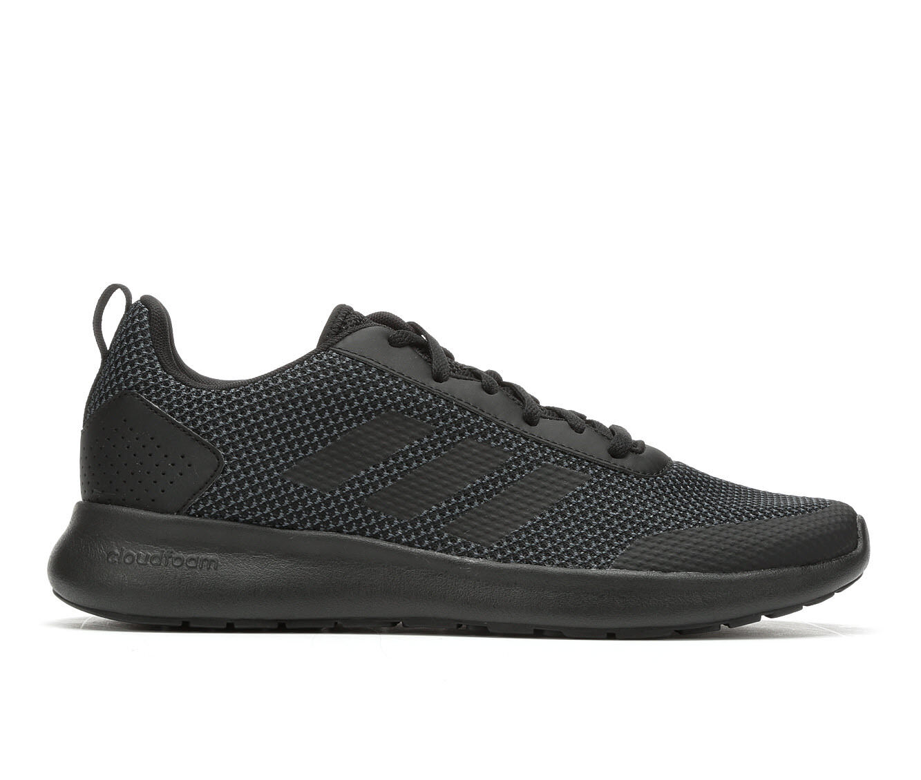 Men's Adidas Cloudfoam Element Race Running Shoes Black/Black
