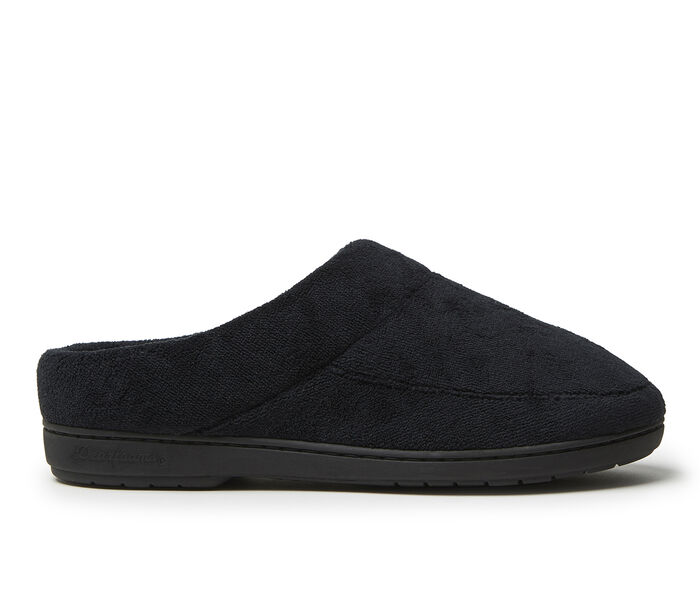 Dearfoams Microfiber Terry Moccasin Toe Clog Slippers