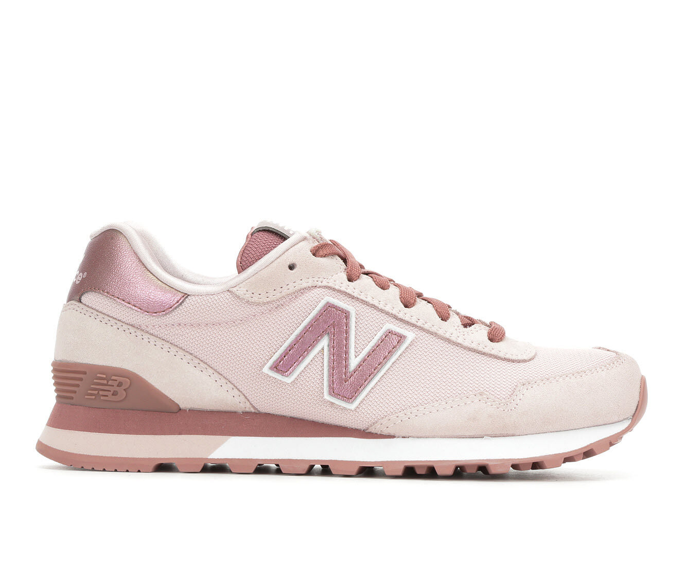 Various Sizes Women's New Balance WL515 Retro Sneakers Pink/Conch/Wht