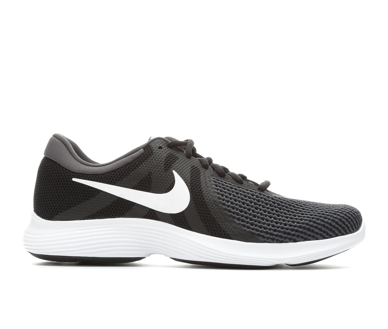 Men's Nike Revolution 4 Running Shoes Blk/Gry/Wht 001