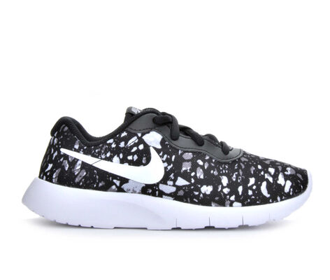Boys' Nike Tanjun Print 10.5-3 Running Shoes