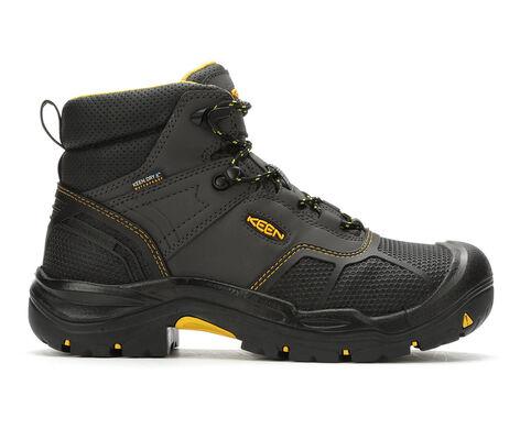 "Men's KEEN Utility Logandale 6"" Steel Toe USA Work Boots"