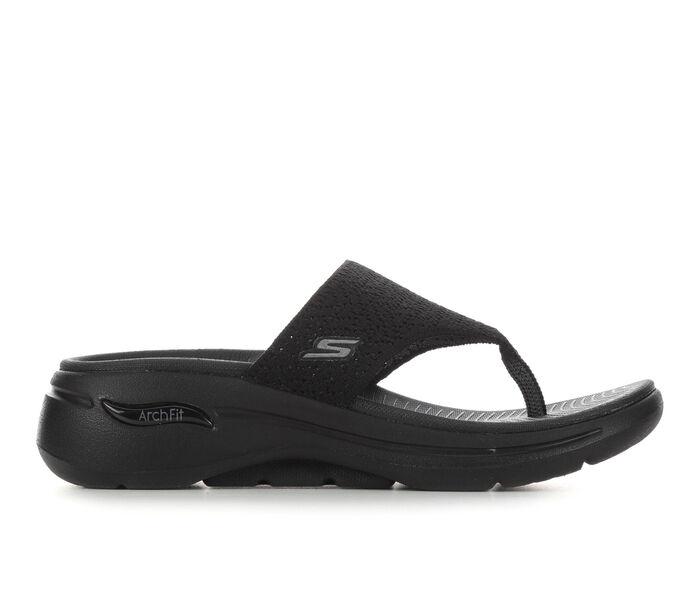 Women's Skechers Go Walk Arch Fit 140221 Flip-Flops