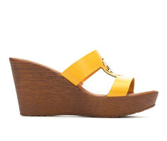 Women's Italian Shoemakers Eunice Wedges